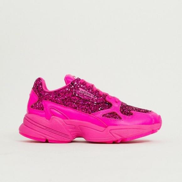 Adidas Originals Falcon Pink Glitter